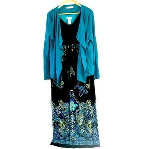 Dress AND Open Cardigan!!!